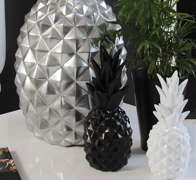 deko figurka ananas kolory czarny style serie styl modernistyczny dodatki figurki. Black Bedroom Furniture Sets. Home Design Ideas